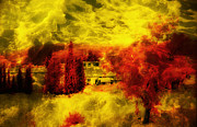 Isaac Silman - Yellow red Storm