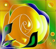 Iris Gelbart - Yellow Rose