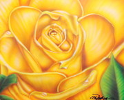 Droplets Originals - Yellow Rose of Texas by Darren Robinson