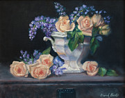 Interior Decorating Originals - Yellow Roses by Sarah Parks