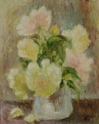 Veronica Coulston - Yellow Roses