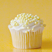 Frosting Prints - Yellow Sprinkles Print by Art Block Collections