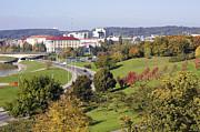 Aleksandr Volkov - Yellow town landscape