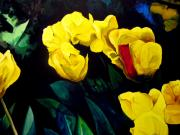 John  Duplantis - Yellow Tulips