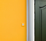 Odon Czintos - Yellow Wall And Door