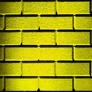 Yellow Wall Print by Semmick Photo