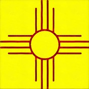 Joseph Frank Baraba - Yellow Zia New Mexico