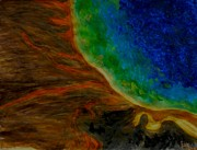 Yellowstone Mixed Media - Yellowstone by Carla Sa Fernandes