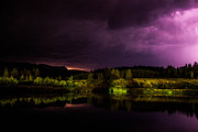 Dean Chytraus - Yellowstone Lightning
