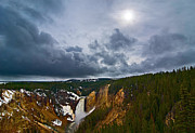 Jamie Pham Metal Prints - Yellowstone Storm Metal Print by Jamie Pham