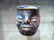 Featured Ceramics - Yep Im Happy by Thomas Bumblauskas