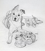 Puppies Originals - Yes This is MY Toy by Lana Tyler