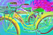 Old Bikes Framed Prints - Yesterday It Seemed Life Was So Wonderful 5D25760 m38 Framed Print by Wingsdomain Art and Photography