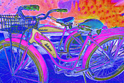 Old Bikes Framed Prints - Yesterday It Seemed Life Was So Wonderful 5D25760 p45 Framed Print by Wingsdomain Art and Photography