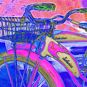Old Bikes Posters - Yesterday It Seemed Life Was So Wonderful 5D25760 Square p45 Poster by Wingsdomain Art and Photography