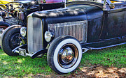Ron Roberts Photography Prints - Yesterdays Hot Rod Print by Ron Roberts