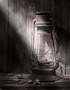 Vintage Lamp Photos - Yesterdays Light by Tom Mc Nemar