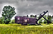 Coal Prints - Yesteryear - HDR Look Print by Rhonda Barrett