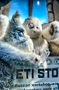 Toy Store Art - Yeti Store by Scott  Wyatt