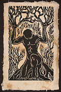 Yggdrasil Print by Maria Arango