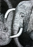 Ursula Reeb - Yin and Yang - Elephants