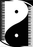 Duality Posters - Yin Yang Grand 2 Poster by Cristophers Dream Artistry