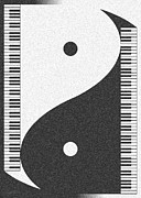 Duality Posters - Yin Yang Grand Poster by Cristophers Dream Artistry