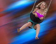 Playground Digital Art Originals - Yippeee by Angelika Drake