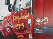 Delivery Truck Paintings - Ymco 125 by Robert Foss