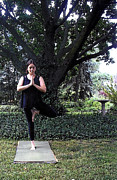 Namaste Originals - Yoga in the Garden by Jane Butera Borgardt