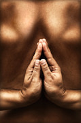 Mythja  Photography - Yoga theme with reversed namaste