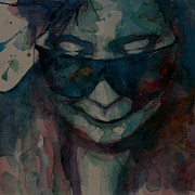Face  Paintings - Yoko  I Dont Know Why by Paul Lovering