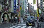 Crosswalk Prints - Yokohama China Town - Japan Print by Daniel Hagerman