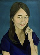 Paintings Available As Prints - Yoona by Phillip Compton