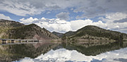 Canyon Ferry Lake Prints - York Bridge Print by Fran Riley