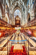 York Minster V Print by Jack Torcello