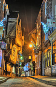 Information Prints - York Shambles Print by Karl Wilson