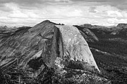 Chuck Kuhn Prints - Yosemite Blk Wht Dome Print by Chuck Kuhn