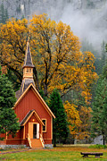 Daniel Ryan - Yosemite Chapel in the...