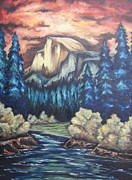 Yosemite Painting Originals - Yosemite by Cheryl Pettigrew