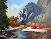 Yosemite Paintings - Yosemite by Lorraine Catania