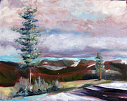 Yosemite Paintings - Yosemite by Rebecca Myers