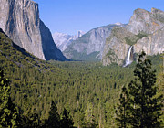 Yosemite Photos - Yosemite Tunnel View by Stephen  Vecchiotti