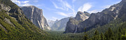 Spring Trees Prints - Yosemite Valley Print by Francesco Emanuele Carucci
