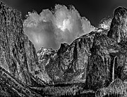 Yosemite Valley From Tunnel Print by Nadine and Bob Johnston