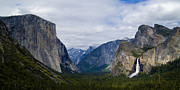 Tunnel View Prints - Yosemite Valley Panoramic Print by Bill Gallagher