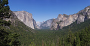 Reno Gregory Posters - Yosemite Valley Panoramic Poster by Reno Gregory