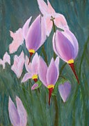 Yosemite Paintings - Yosemite Wildflowers by Patricia Beebe