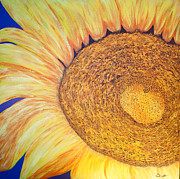 Yellow Prints - You Are My Sunshine Print by Dana Kern
