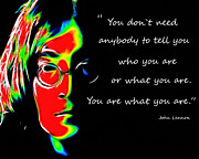 John Lennon  Art - You are what you are by Stefan Kuhn